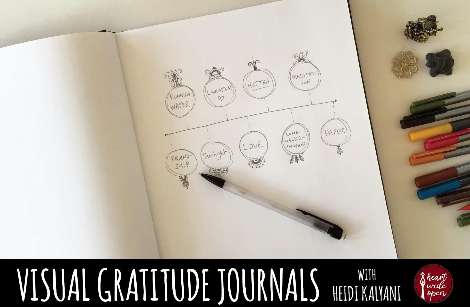 Visual Gratitude Journals